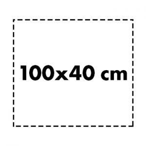 100×40 cm