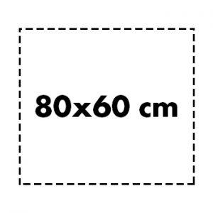 80×60 cm