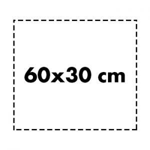 60×30 cm