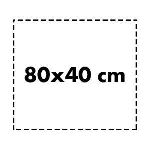 80×40 cm