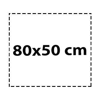 80×50 cm